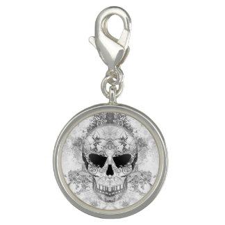 Art skull Charm