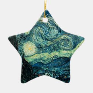 ART - Starry Night - SRF Christmas Tree Ornament