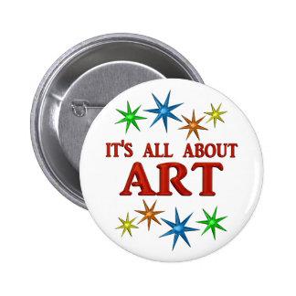 Art Stars Pinback Buttons