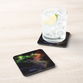 Art Stucco Mosaic Nebula Cluster Coaster Set