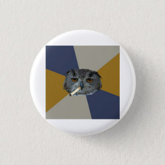 Art Student Owl Advice Animal Meme 3 Cm Round Badge
