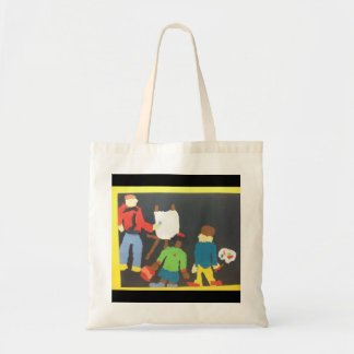 Art Student Paper Collage Tote