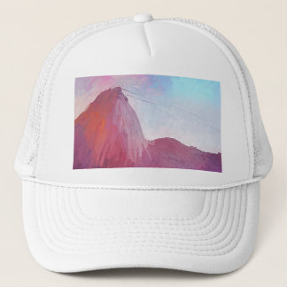 Art Sugarloaf Mountain Rio de Janeiro Trucker Hat
