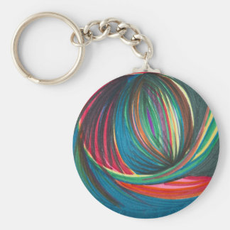 art swirl key ring