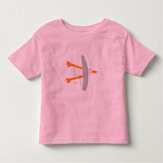 Art T-Shirt: Classic Seagull Toddler T-Shirt