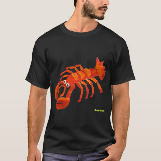 Art T-Shirt: Cornish Lobster T-Shirt