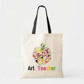 Art Teacher Apple Bag
