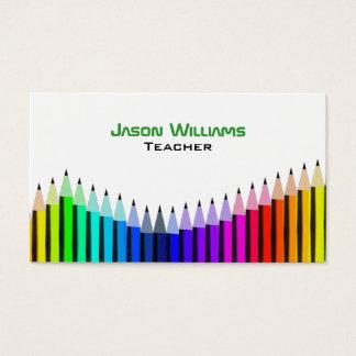 Art Teacher Business Cards