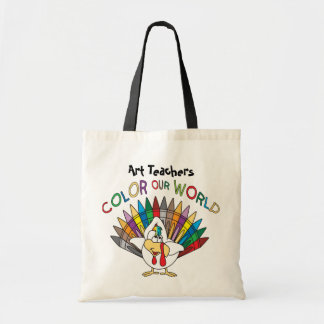 Art Teachers Color Our World Budget Tote Bag