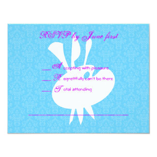 Art Theme Bat Mitzvah Birthday Party RSVP 11 Cm X 14 Cm Invitation Card