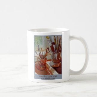 art tools coffee mug