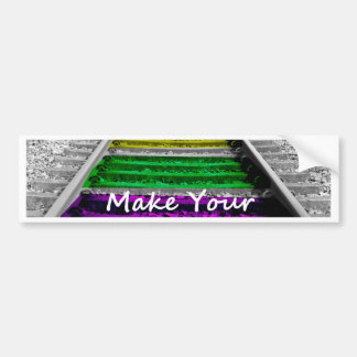 art track.jpg bumper sticker