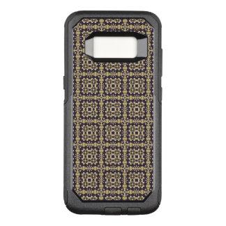 Art vintage damask pattern, golden OtterBox commuter samsung galaxy s8 case