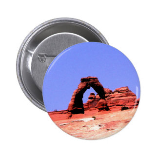 Art work of god delicated arch UTah USA Button