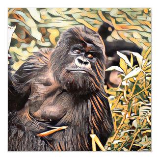 ArtAnimal Gorilla Magnetic Card
