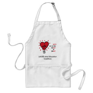 artbulblogobig, LAUSD Arts Education Coalition Standard Apron