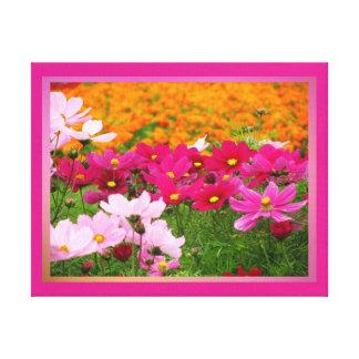 Arte en lienzo Lámina - Las Flores Stretched Canvas Print