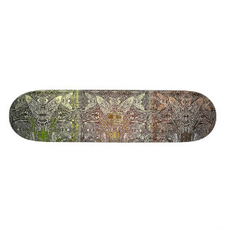 artefacts - 3 wise men test deck skateboard deck