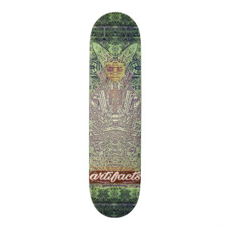 artefacts - green wiseman test deck skate decks