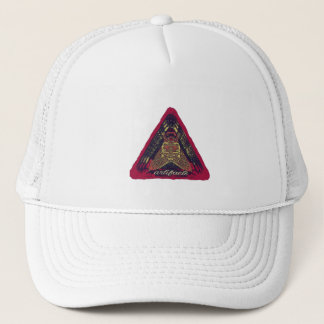 artefacts - something on your mind? v2 pink logo trucker hat