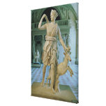Artemis the Huntress Canvas Print