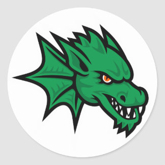 Artesia Dragons Mascot Sticker