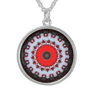 Artful Funky Bold Designer Silver Necklace