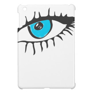 ARTFULL BLUE EYE ART iPad MINI CASES