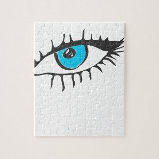 ARTFULL BLUE EYE ART JIGSAW PUZZLE
