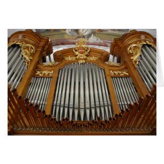 Arth-Oberarth organ, Switzerland Card