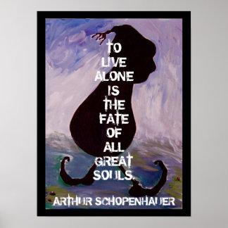 Arthhur Schopenhauer -  Quote - Poster