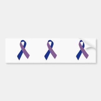 arthritis awareness blue ribbon bumper sticker