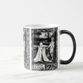 Arthur and the strange mantle magic mug