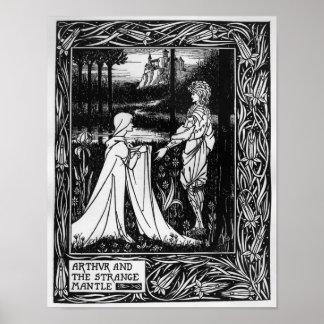 Arthur and the strange mantle poster