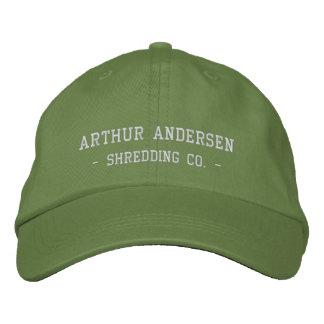 Arthur Andersen, - Shredding Co. - Embroidered Hat