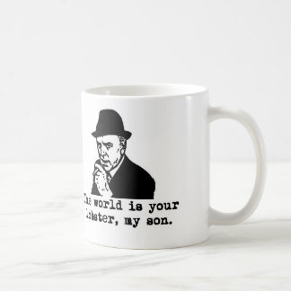 Arthur Daley The world is your lobster Mug