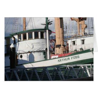 Arthur Foss Tug Note Card