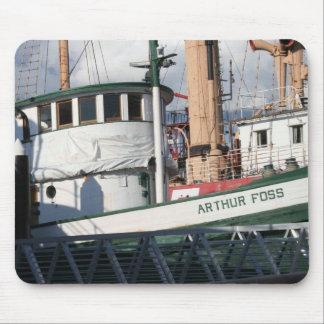 Arthur Foss Tug Mousepad
