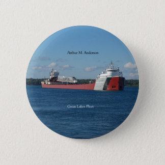 Arthur M. Anderson button