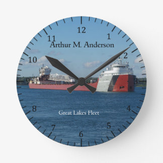 Arthur M. Anderson clock