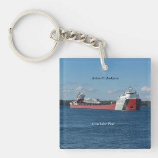 Arthur M. Anderson key chain