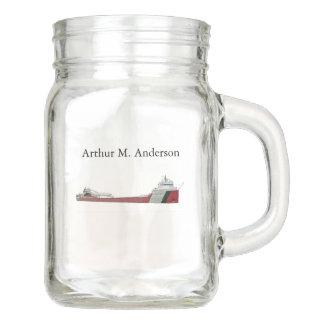 Arthur  M. Anderson mason jar