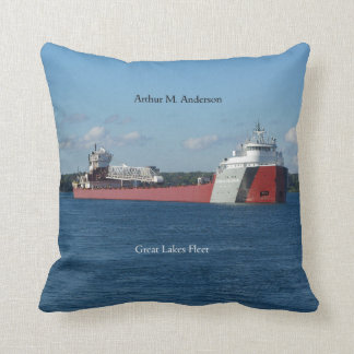 Arthur M. Anderson square pillow