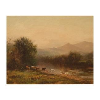 Arthur Parton - Landscape Wood Canvases