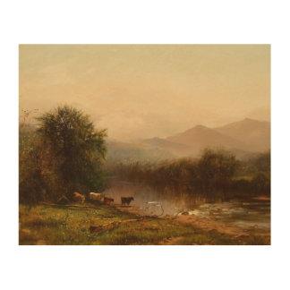 Arthur Parton - Landscape Wood Print