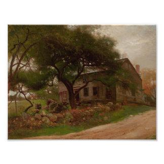 Arthur Parton - Old Farm House in the Catskills Photo