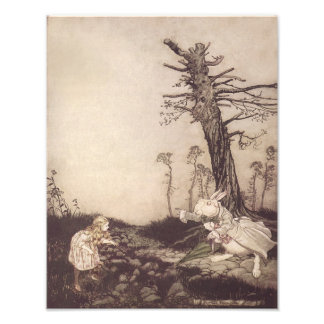 """Arthur Rackham 1907 """"What Are You Doing Out There"""" Photo Art"""