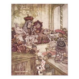 "Arthur Rackham 1907 ""Who Stole the Tarts"" Print Photograph"
