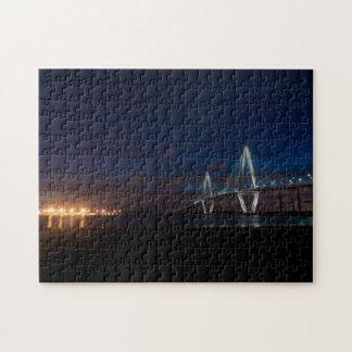 Arthur Ravenel Night Pano Puzzle