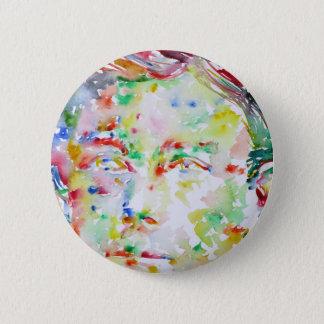 ARTHUR RIMBAUD - watercolor portrait.2 6 Cm Round Badge